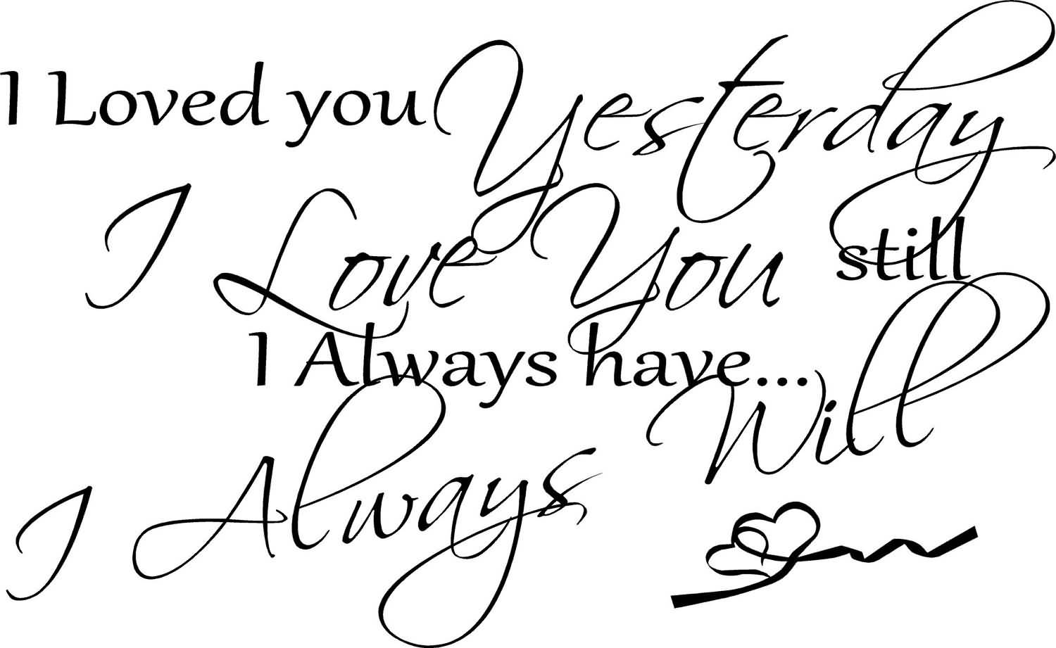 Free I Love You Quotes 12