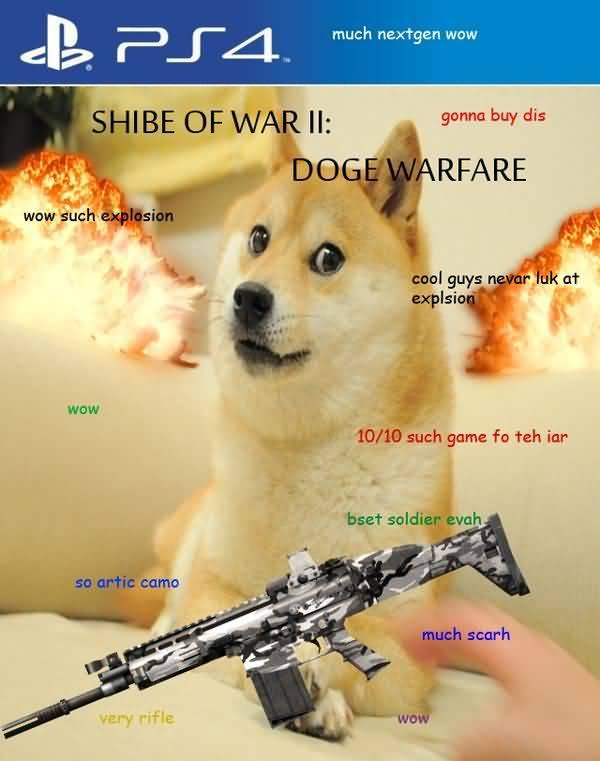 Funny Doge Meme Original Picture