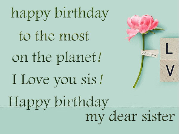 Funny birthday greetings for sister joke