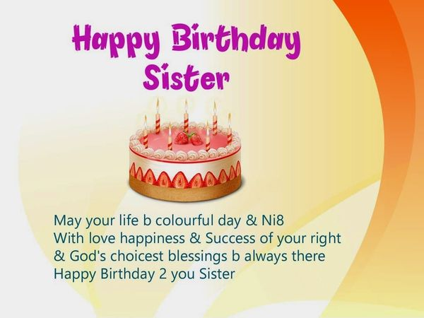 Funny birthday greetings for sister memes
