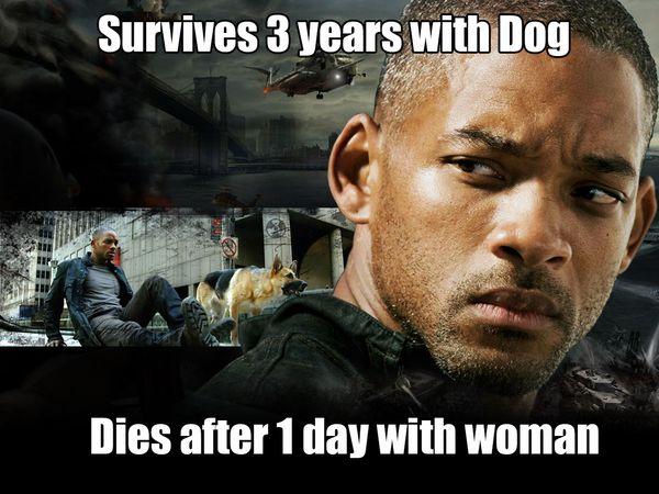 Funny survive dirty meme photo