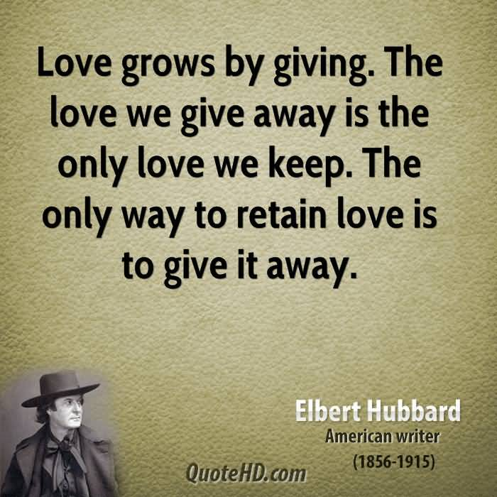 Giving Love Quotes 11