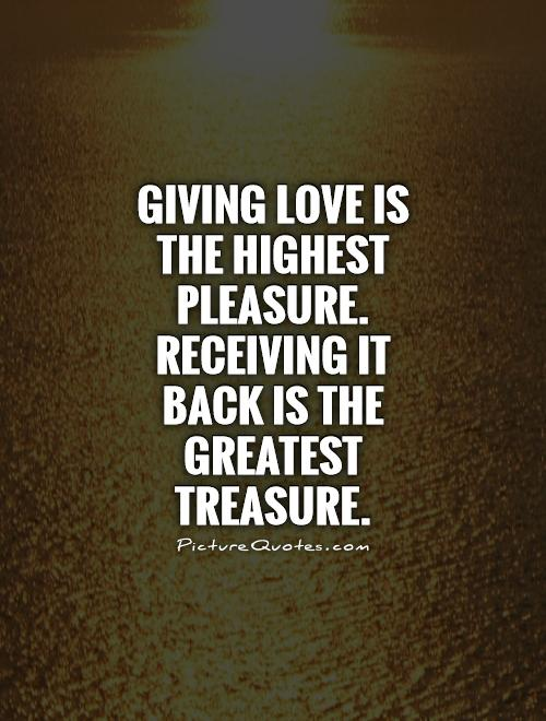 Giving Love Quotes 14