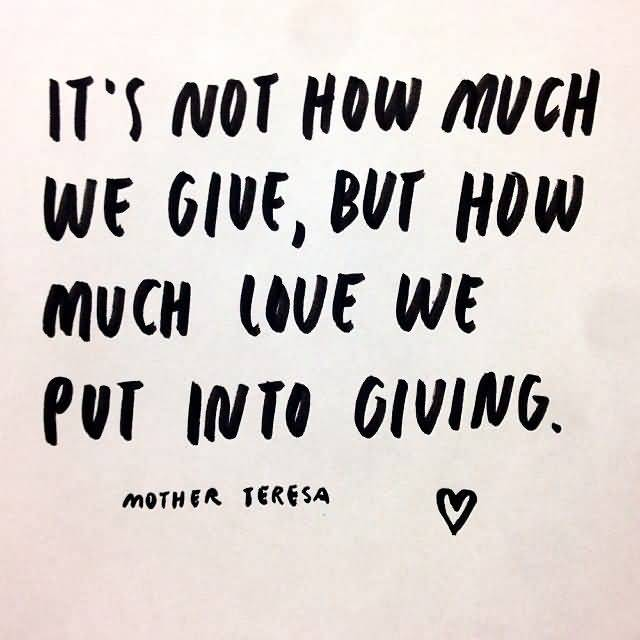 Giving Love Quotes 19