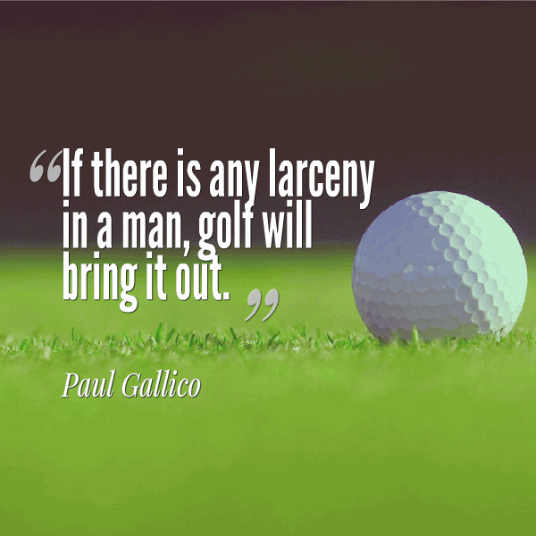 60 Golf And Life Quotes Saying Images Photos QuotesBae Awesome Golf And Life Quotes