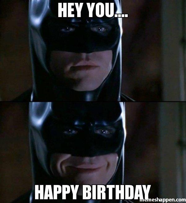 Happy Birthday Batman Meme Joke