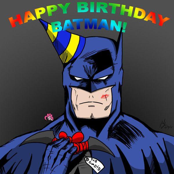 Happy Birthday Batman Meme