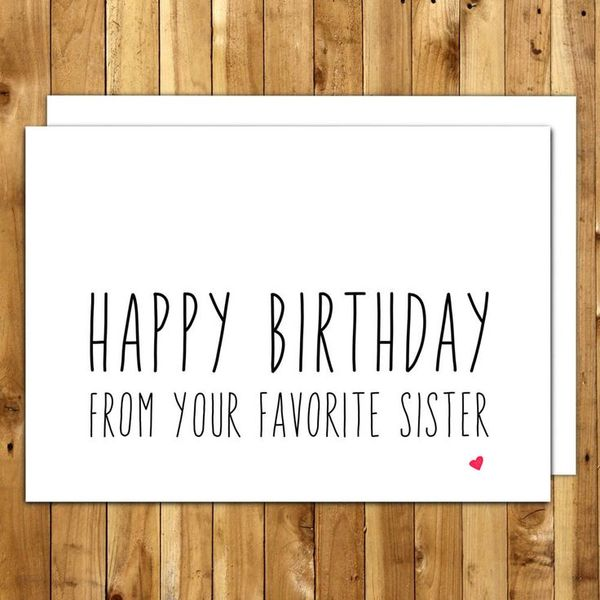 Happy birthday cards for sister memes joke