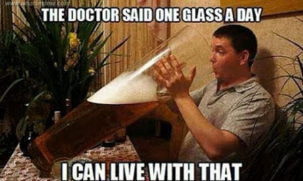 Hilarious funny drinking meme Picture
