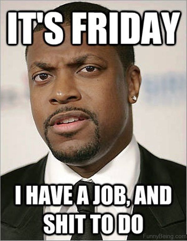 I Have A Job And Shit To Do Friday meme Images
