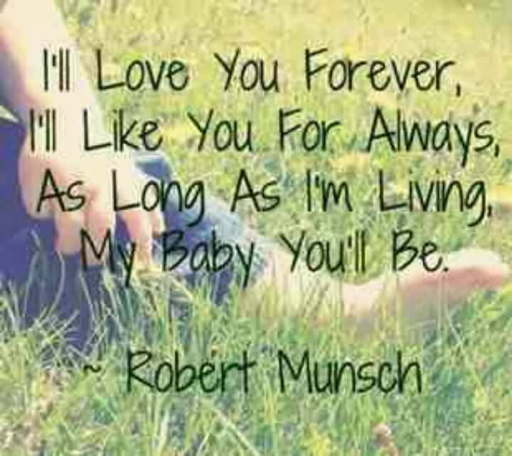 I Ll Love You Forever Book Quotes 60 QuotesBae Enchanting Love You Forever Book Quotes