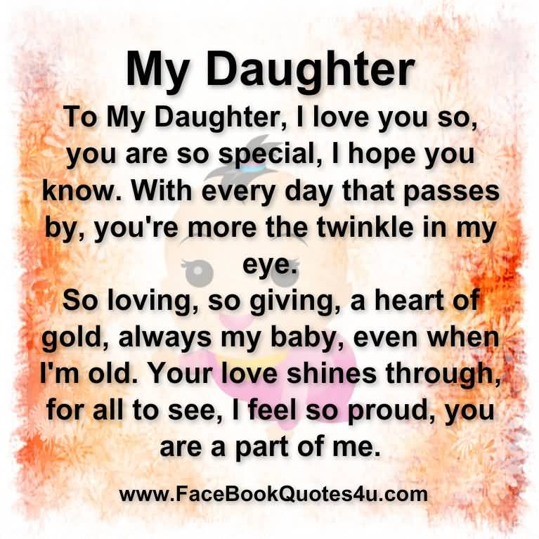 Imágenes De I Love My Daughter Quotes And Images Inspiration I Love My Daughter Quotes And Sayings