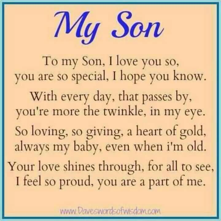 20 I Love My Son Quotes And Sayings Collection Quotesbae