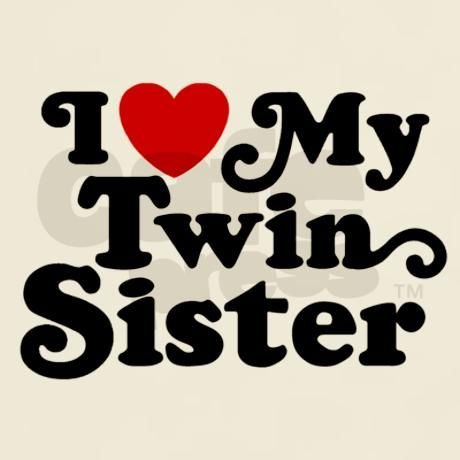 20 I Love My Twin Sister Quotes & Photos | QuotesBae