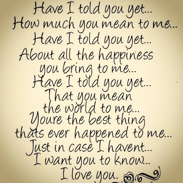 I Luv U Quotes: 20 I Love U Quotes Sayings Images & Pictures