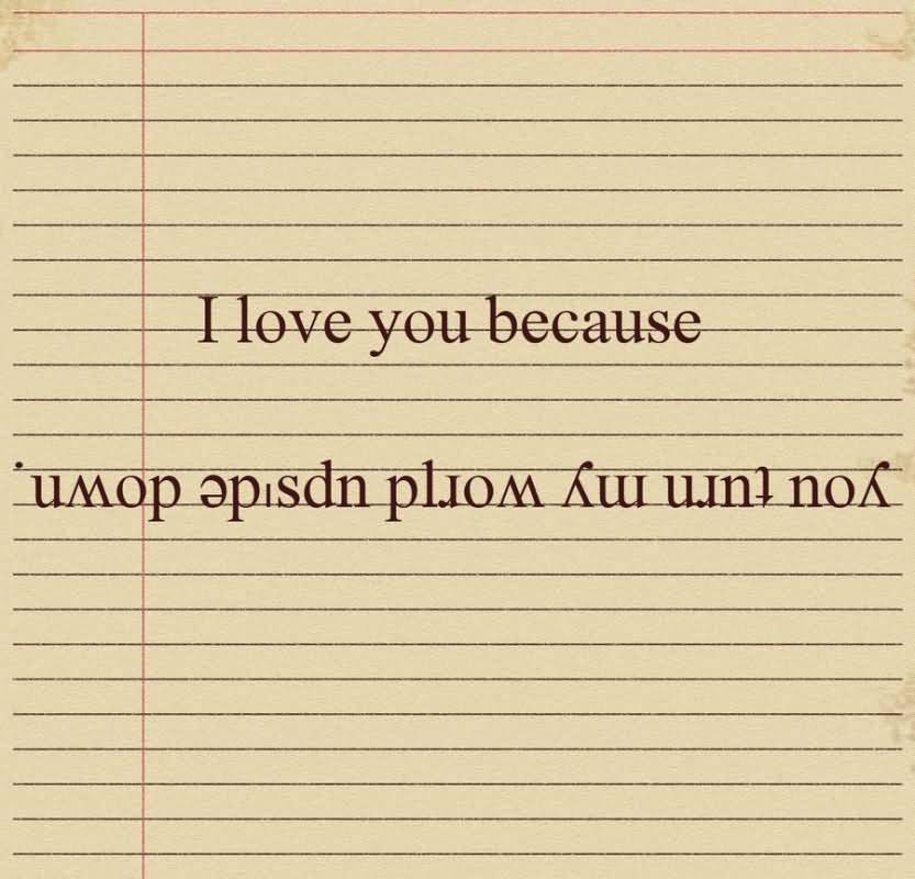 I Love You Because Quotes 19