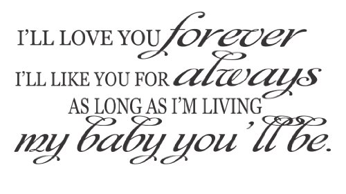 I Love You Forever I Like You For Always Quote 01 Quotesbae