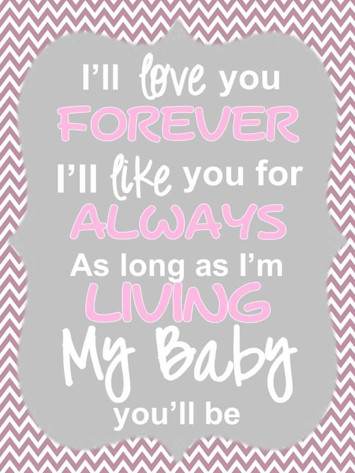 I Love You Forever I Like You For Always Quote 60 QuotesBae Awesome I Love You Forever I Like You For Always Quote