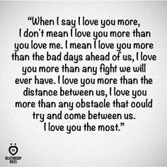 I Love You More Quotes 06