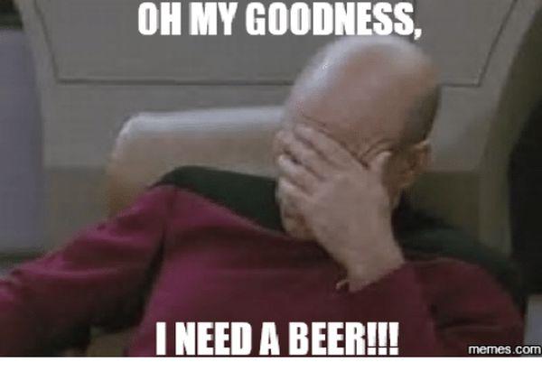 I need a beer meme joke