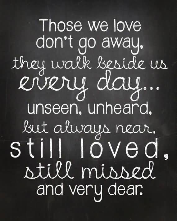 In Memory Of Lost Loved Ones Quotes 02