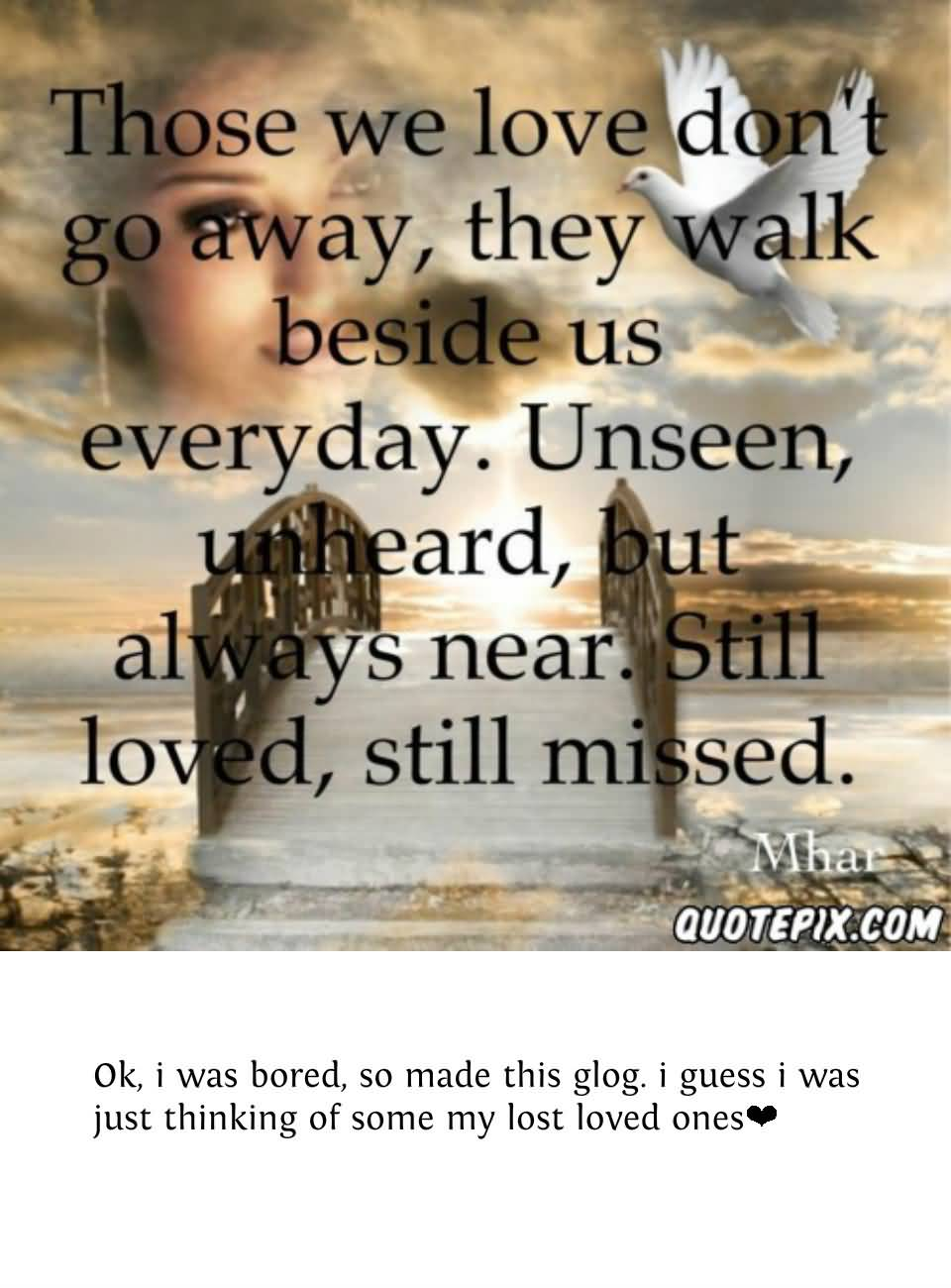 In Memory Of Lost Loved Ones Quotes 10