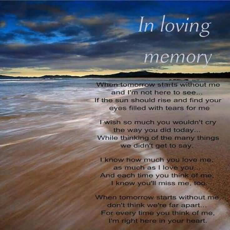 In Remembrance Quotes Of A Loved One 09