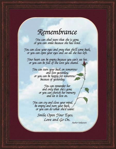 In Remembrance Quotes Of A Loved One 16