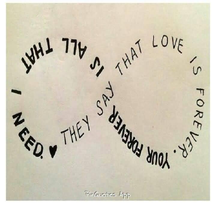 Infinity Love Quotes 60 QuotesBae Impressive Infinity Love Quotes