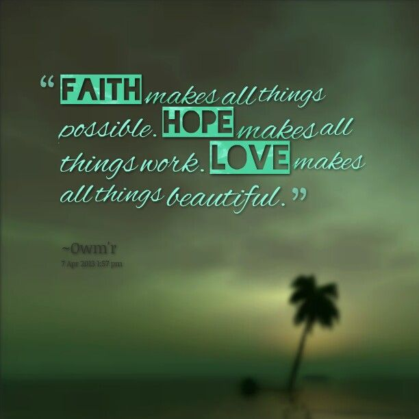 Inspirational Quotes About Faith And Love 01