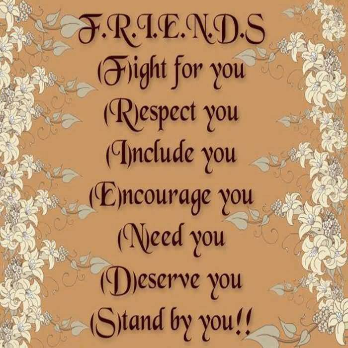 Inspirational Quotes About Friendships 09