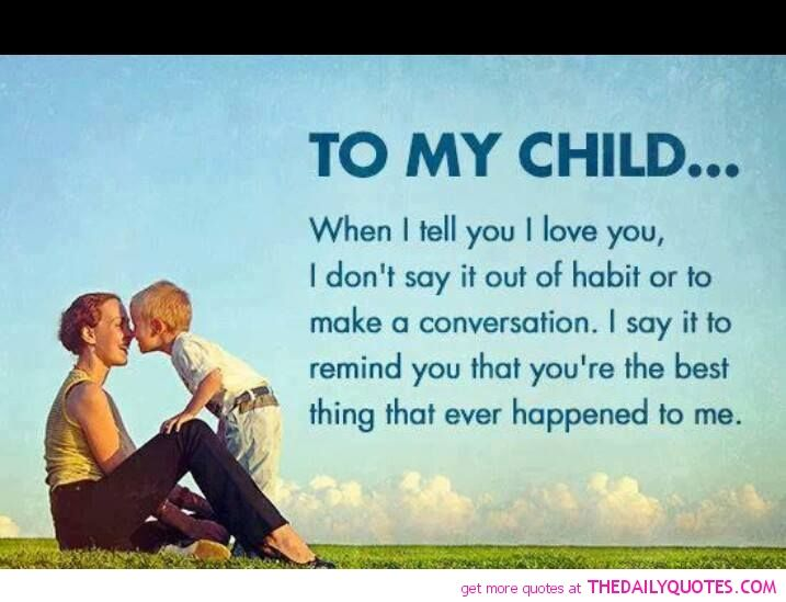 Inspirational Quotes About Loving Children 60 QuotesBae Extraordinary Inspirational Quotes About Loving Children