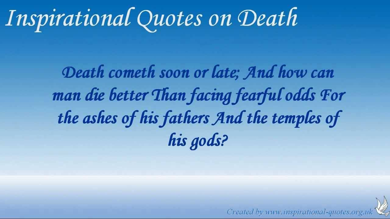 Inspirational Quotes Death Loved One 10