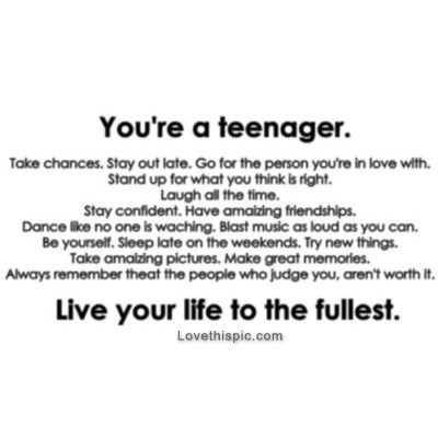 20 Inspirational Quotes For Teenagers About Life   QuotesBae