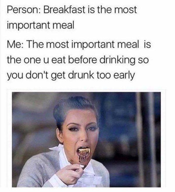 No alcohol meme image