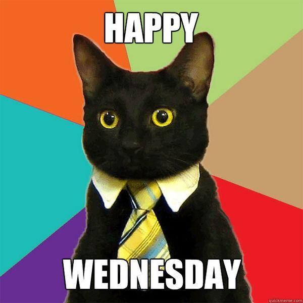 happy wednesday meme funny