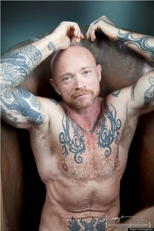 Buck Angel With Great Body and Amazing Tattoo