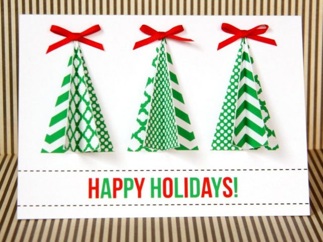 Christmas Cards Handmade Image Picture Photo Wallpaper 01