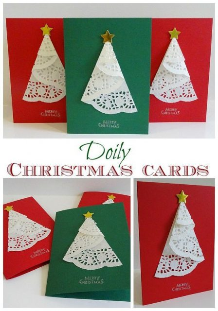 Christmas Cards Handmade Image Picture Photo Wallpaper 03