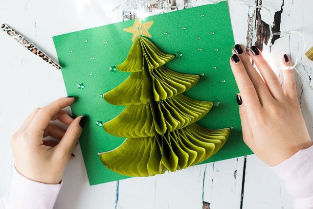 Christmas Cards Handmade Image Picture Photo Wallpaper 05