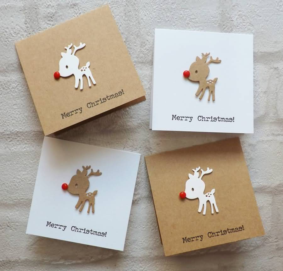 Christmas Cards Handmade Image Picture Photo Wallpaper 10