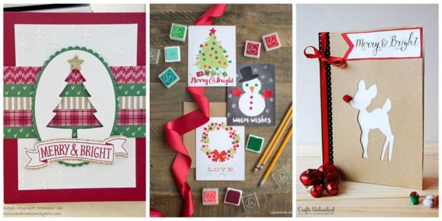 Christmas Cards Handmade Image Picture Photo Wallpaper 14