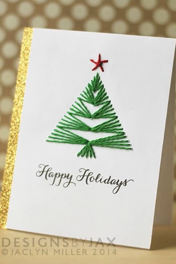 20 Christmas Cards Ideas For This X-MAS | QuotesBae