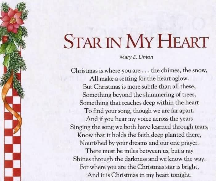 Christmas Poems Image Picture Photo Wallpaper 01