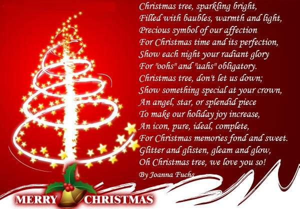 Christmas Poems Image Picture Photo Wallpaper 05