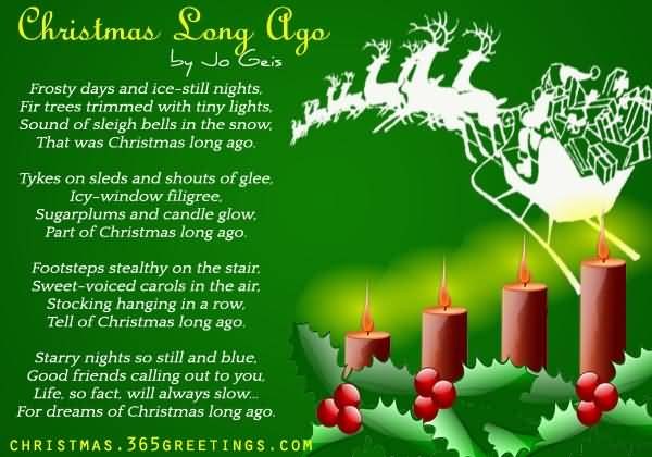 Christmas Poems Image Picture Photo Wallpaper 06