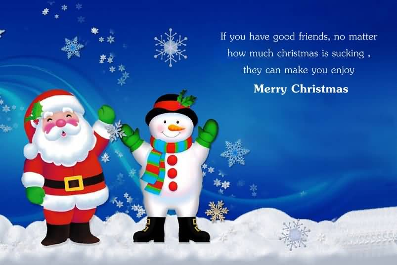 Christmas Quotes For Friends Image Picture Photo Wallpaper 02