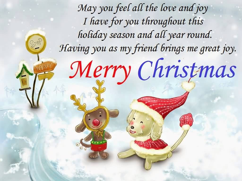 Christmas Quotes For Friends Image Picture Photo Wallpaper 05