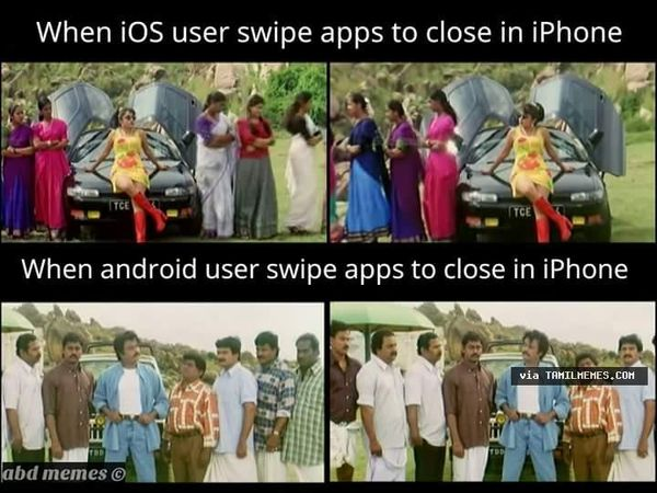 Funniest Iphone Users Vs Android Users Meme Jokes