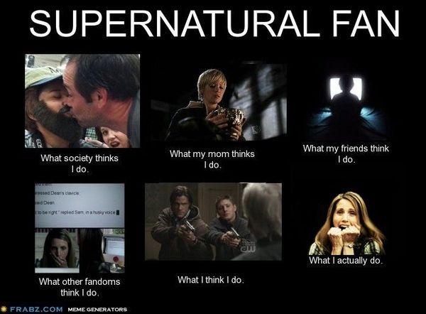 Funniest Supernatural Fan Memes Image